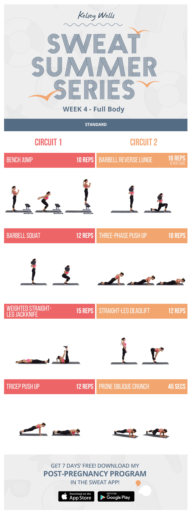 Kelsey Wells Full-Body Circuit PWR Workout