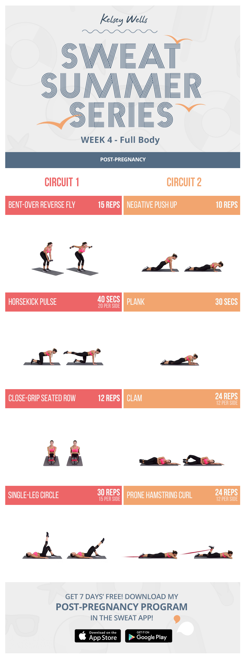 Full Body Post-pregnancy workout