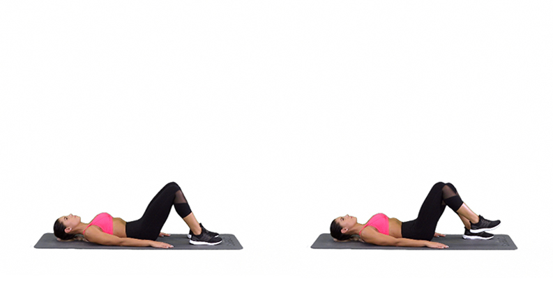 Foot lift exercise