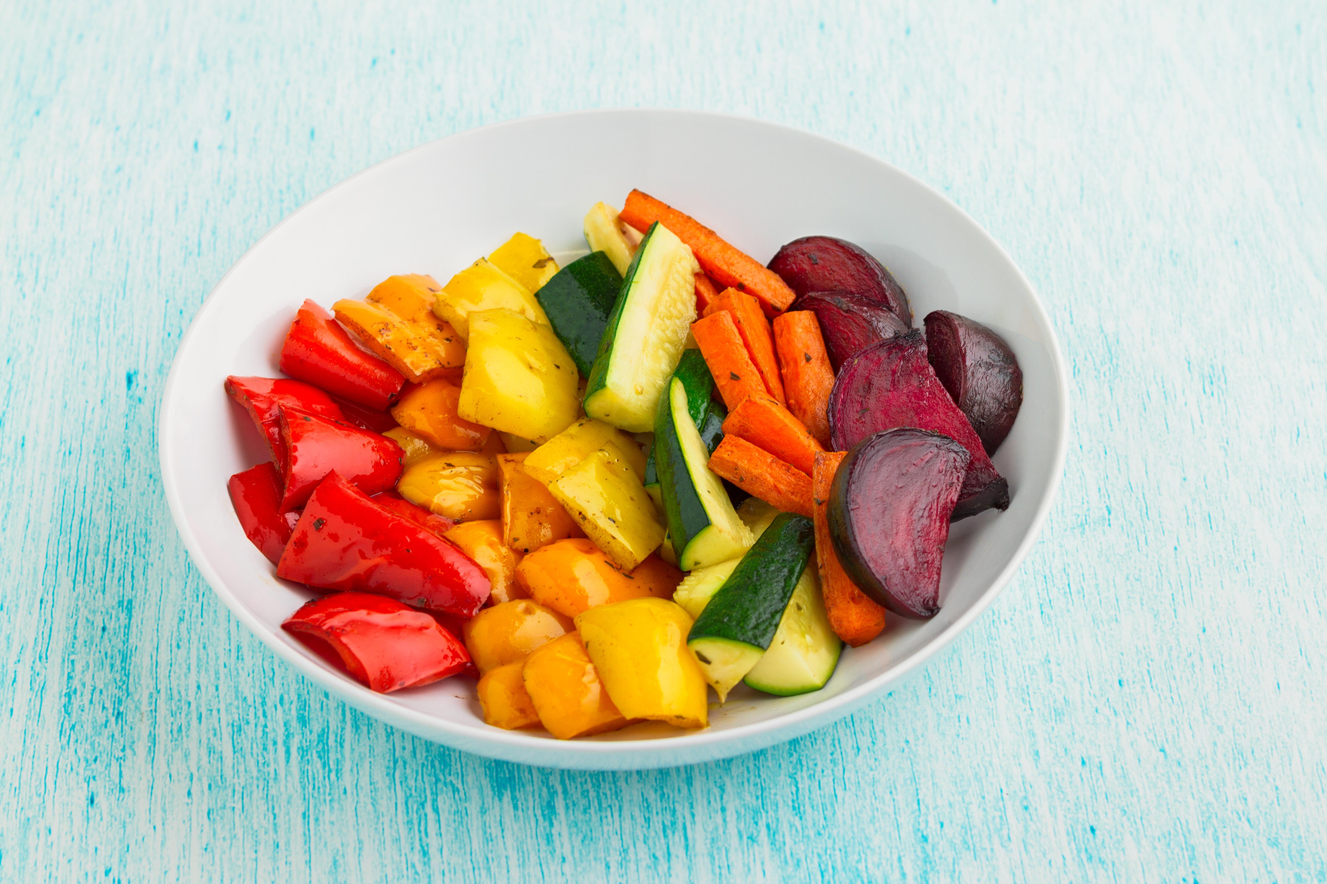 Rainbow Roast Vegetables Recipe
