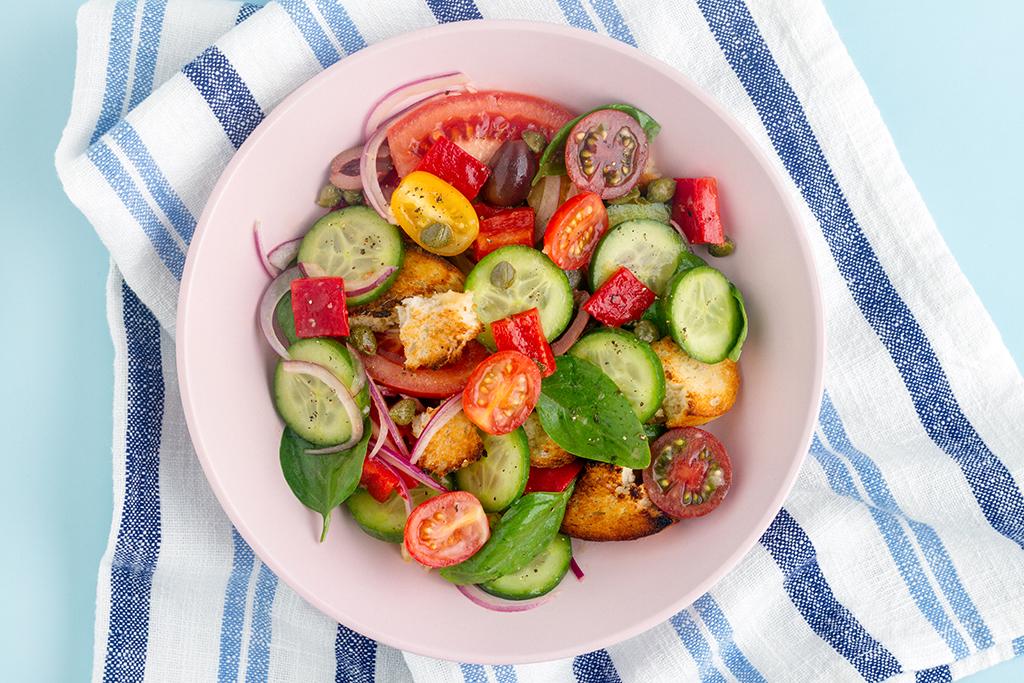 Healthy Panzanella Salad Recipe