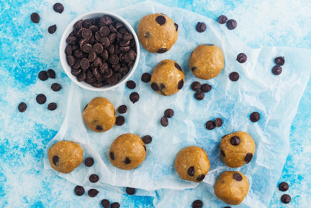 Cookie Dough Energy Ball Recipe