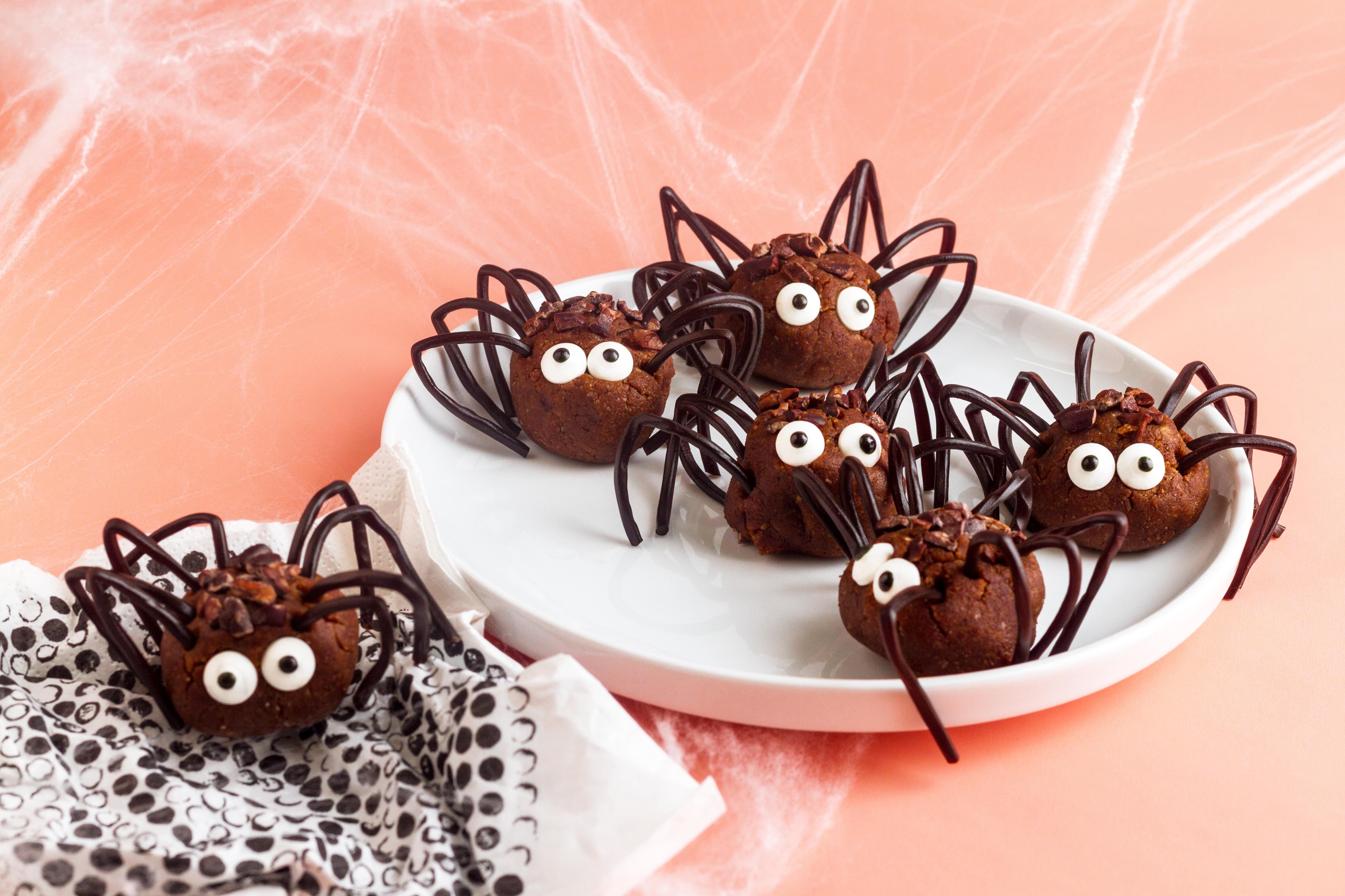 Halloween Spider Energy Ball Recipe