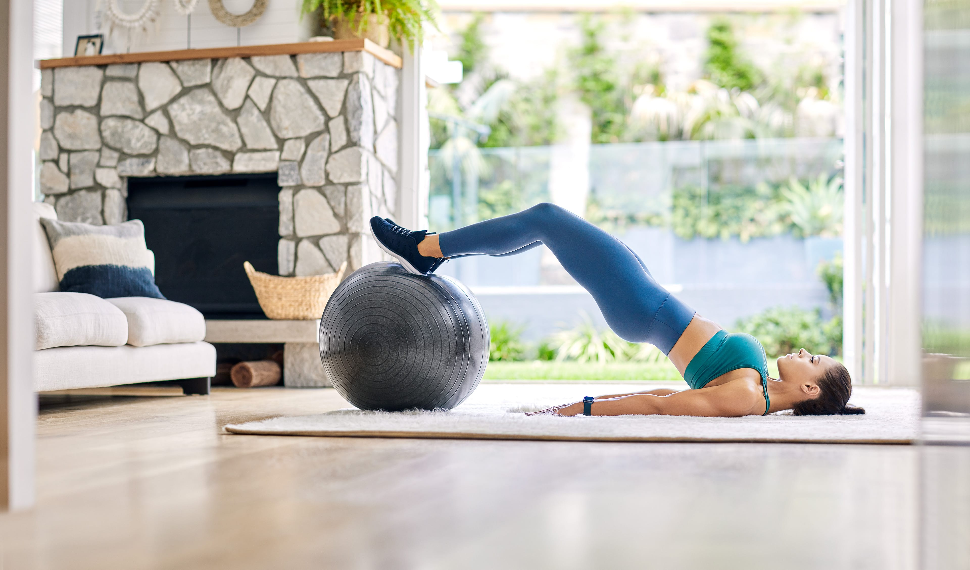 Full Body Fitball Workout
