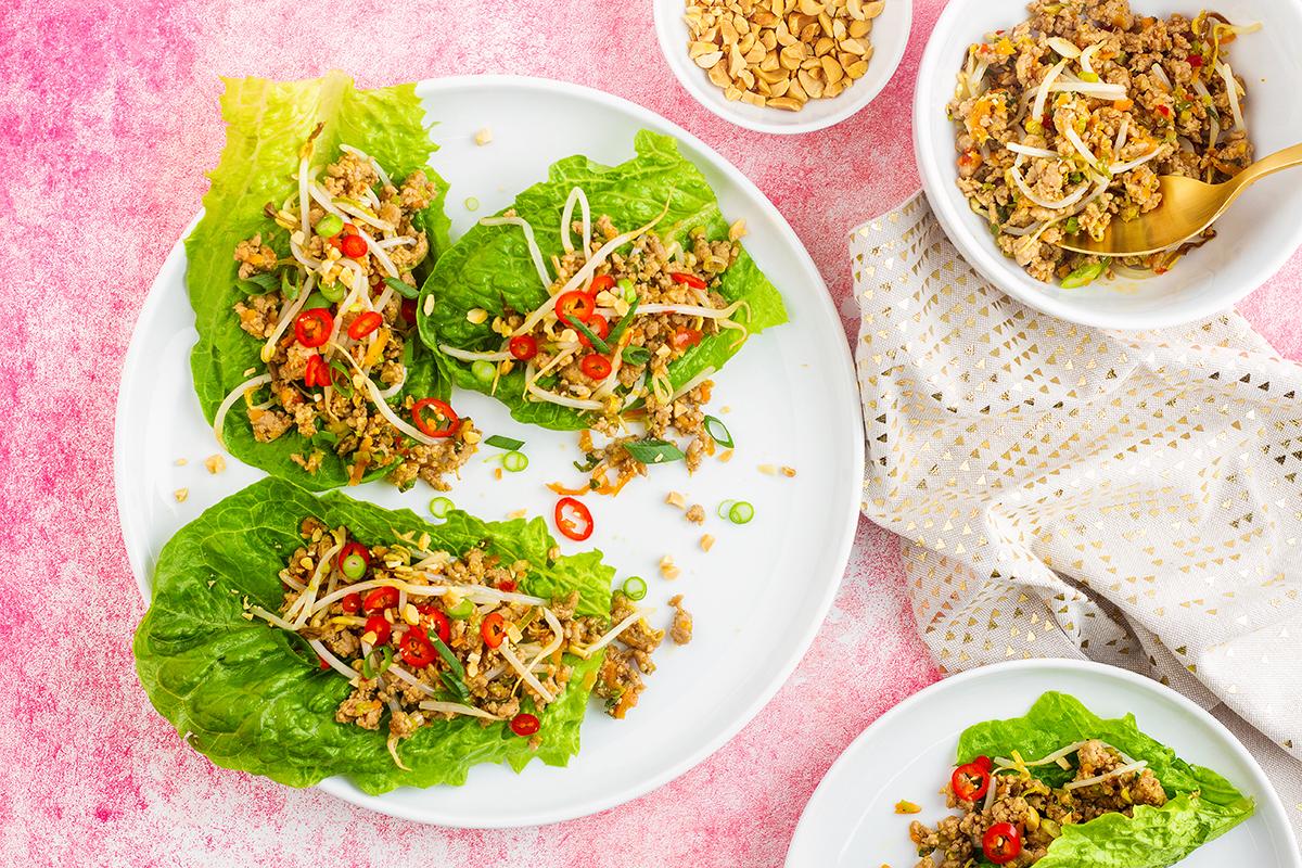 Healthy Pork San Choy Bow Recipe