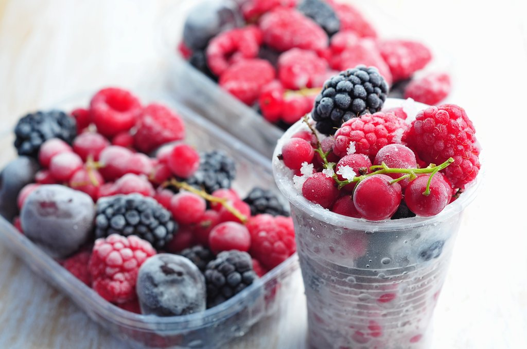Fresh VS Frozen Fruits & Veggies