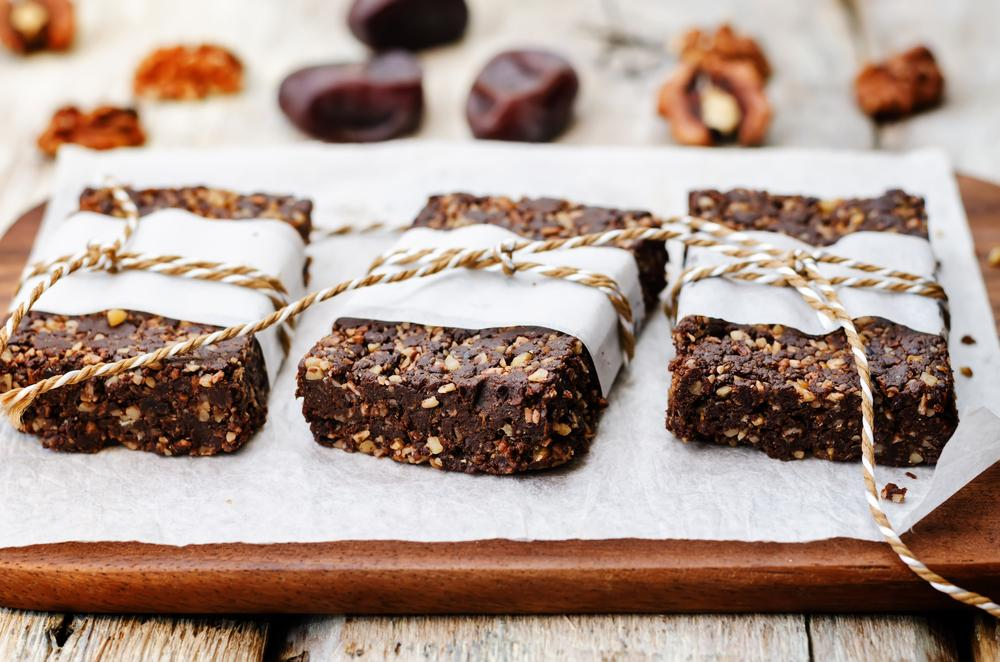 Healthy Raw Energy Bars Recipe
