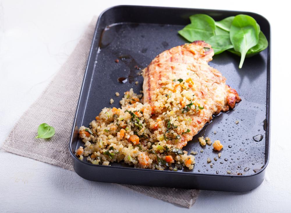 Cajun Chicken & Spiced Quinoa Recipe