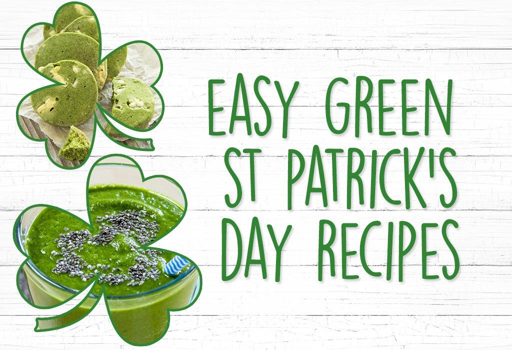 Easy Green St Patrick's Day Recipes
