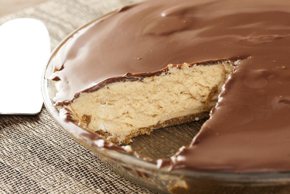 Choc-Peanut Butter Protein Pie Recipe