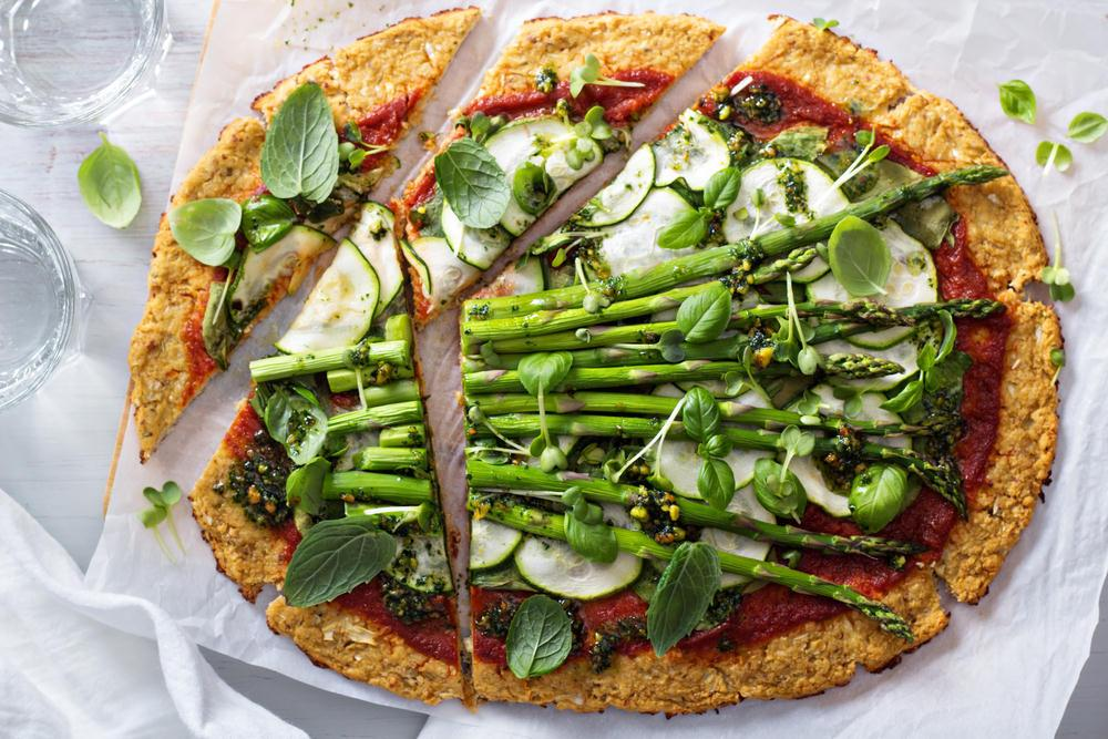 Quick Cauliflower Base Pizza Recipe