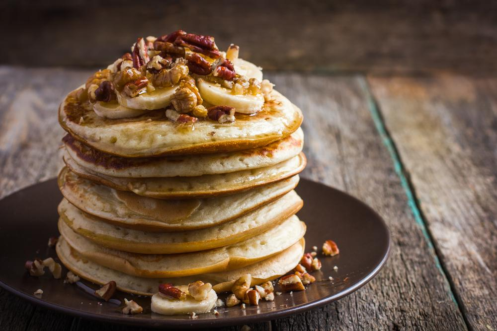 Healthy Banana Oat Pancakes Recipe