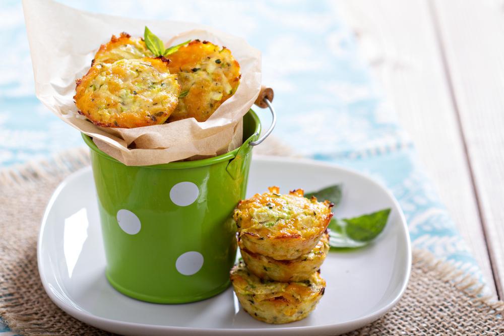 Zucchini & Egg Breakfast Muffins Recipe