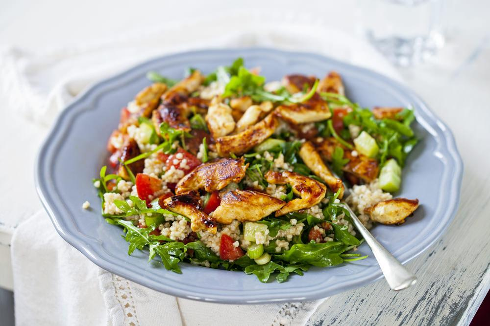 Healthy Chicken & Quinoa Salad Recipe