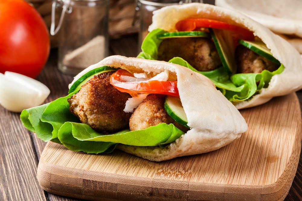 Healthy Falafel In Pita Recipe