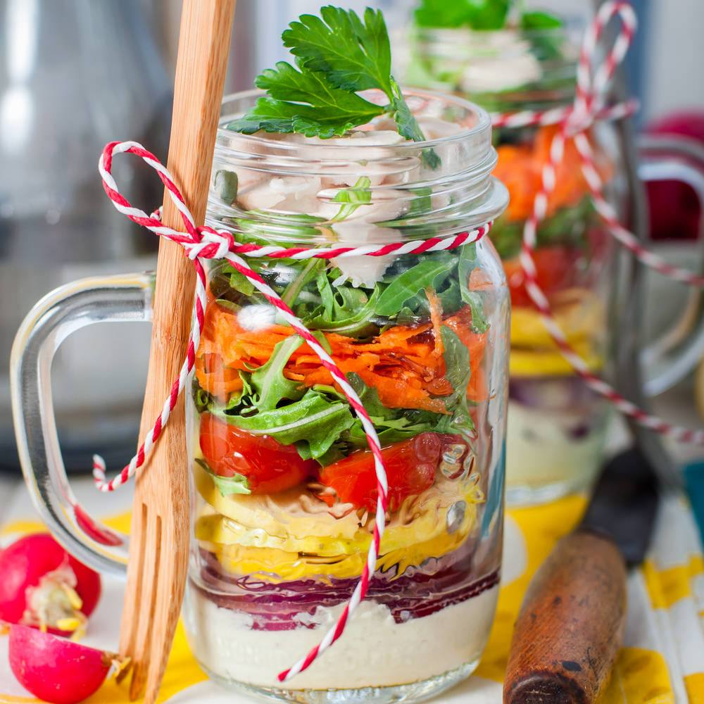 Mason Jar Salad Recipe!