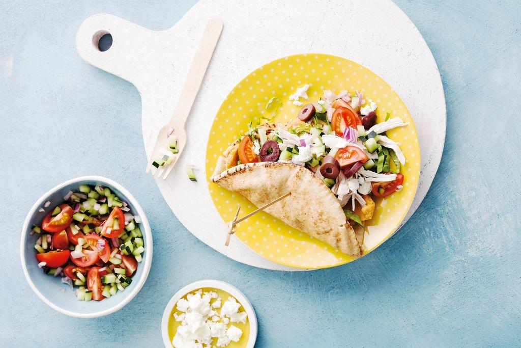 Mediterranean Taco Recipe From My Hardcopy Book!