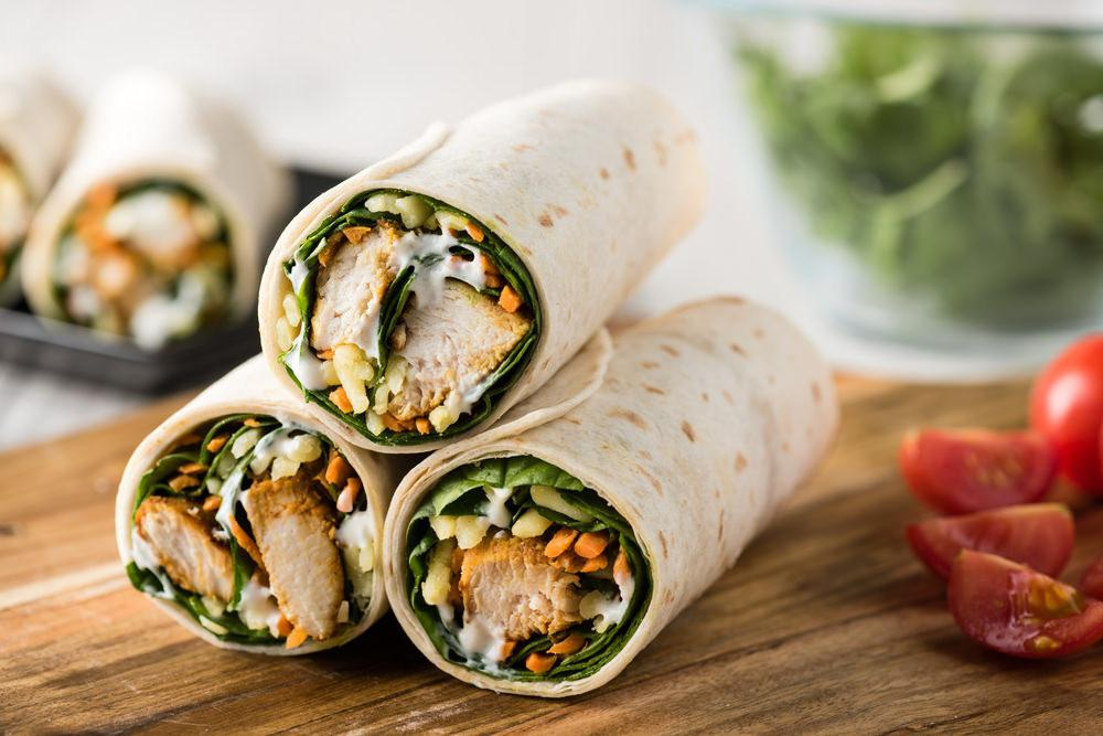 Tandoori Chicken Wrap Recipe