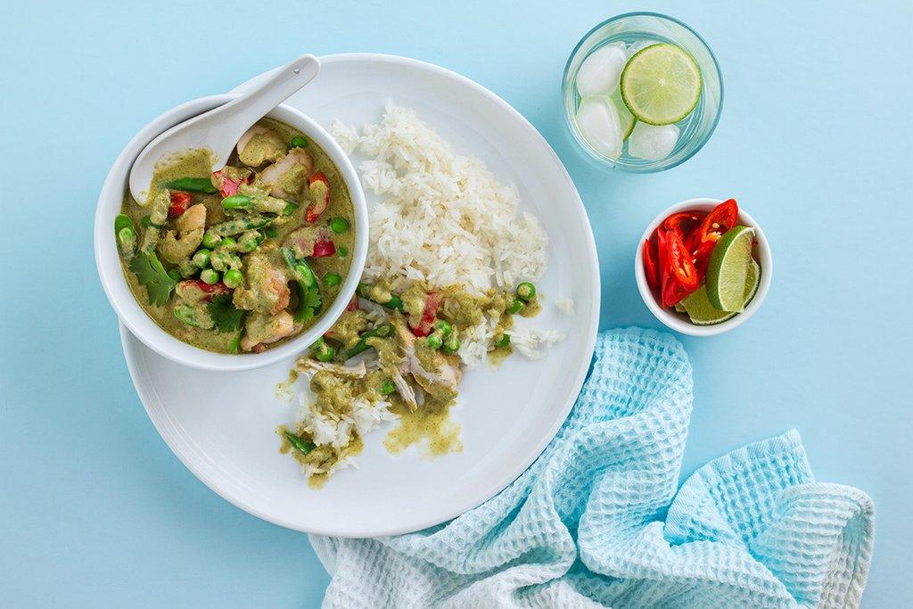 Healthy Green Chicken Curry Recipe