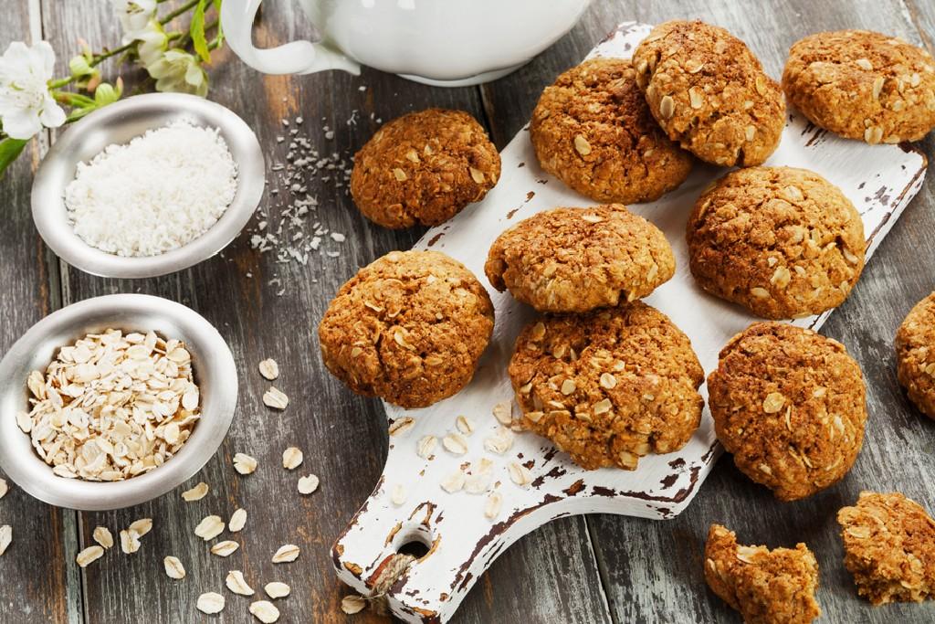 Oatmeal & Coconut Cookies Recipe