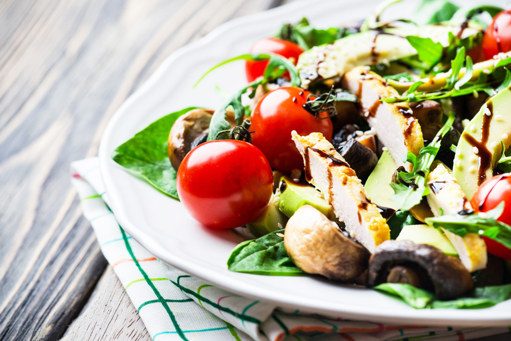 Protein-Packed Spinach Salad Recipe