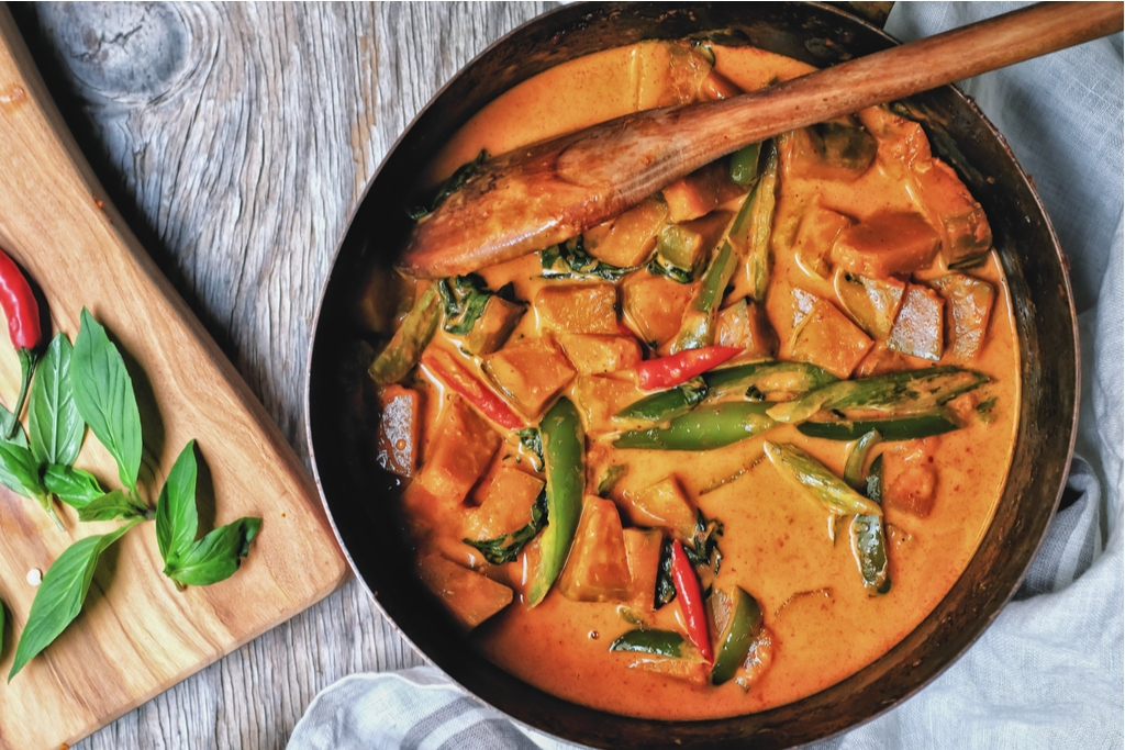 Quick & Simple Thai Vegetarian Curry
