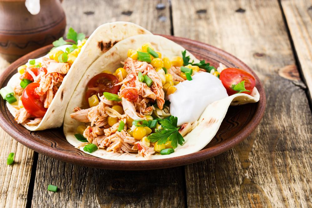 Easy Shredded Chicken Taco Recipe