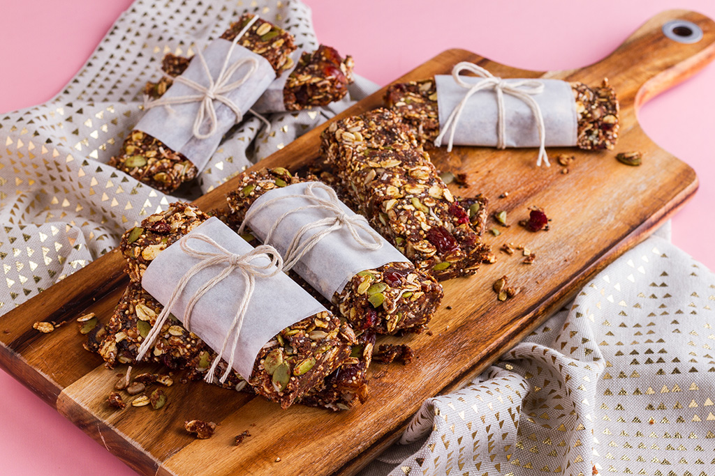 Healthy Homemade Muesli Bars Recipe