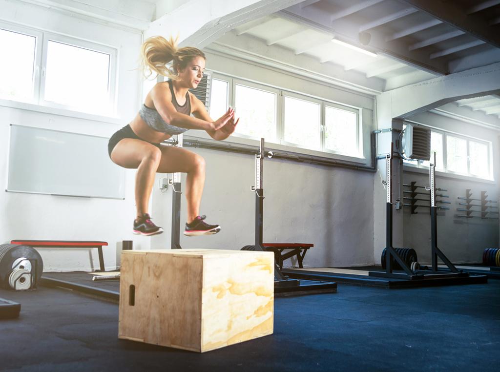 How to Master The Plyometric Box Jump