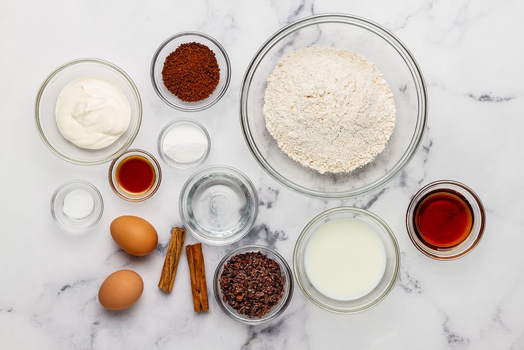 Coffee Muffin Ingredients