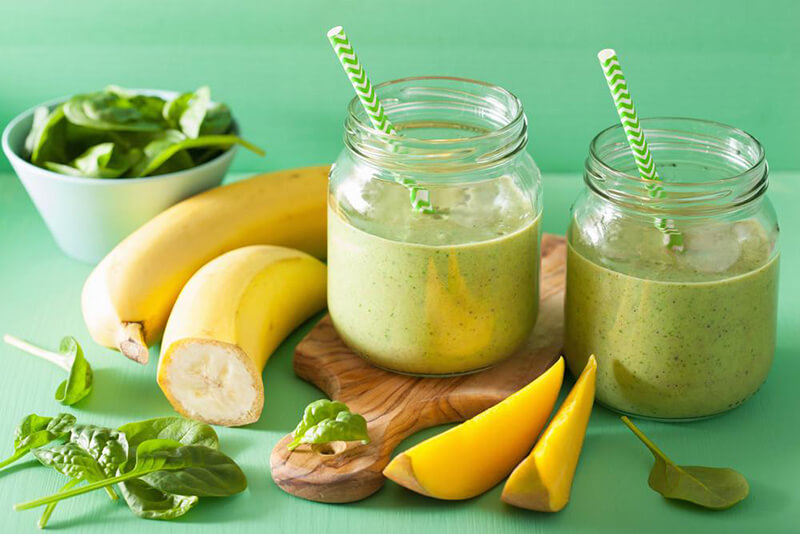 Tropical Green Post-Workout Smoothie