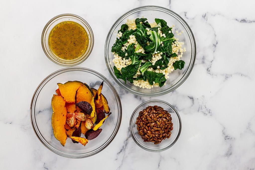 Roasted Pumpkin Seeds Salad Recipe