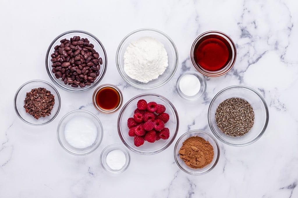 Black Bean Brownies Ingredients