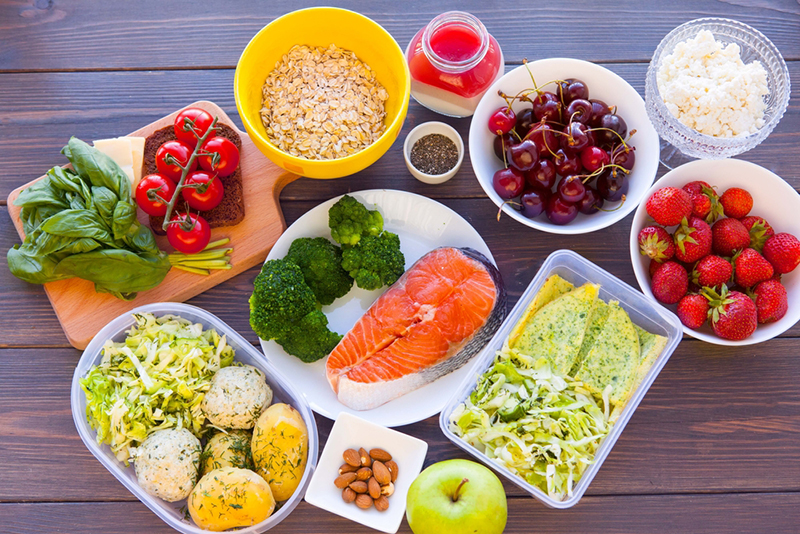Variety Of Healthy Food