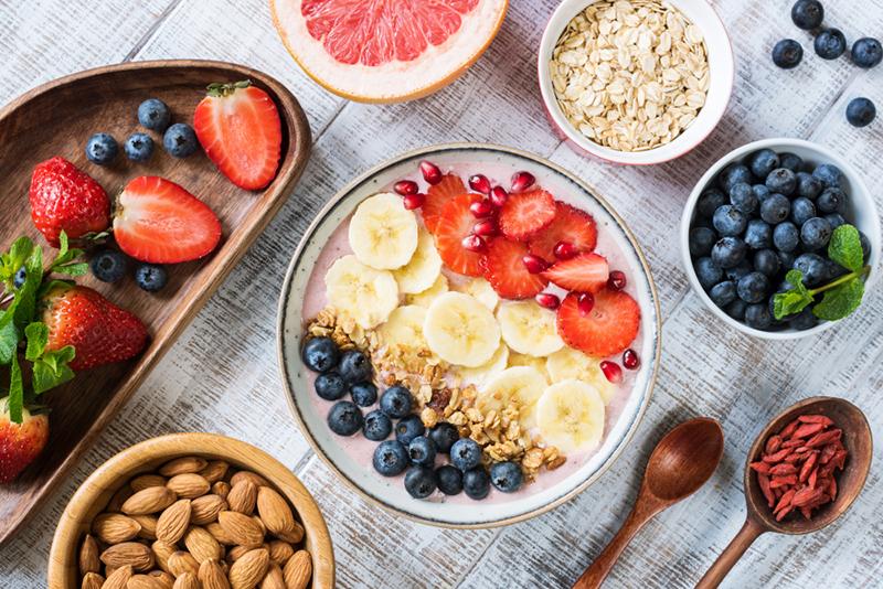 Healthy Food On Hand