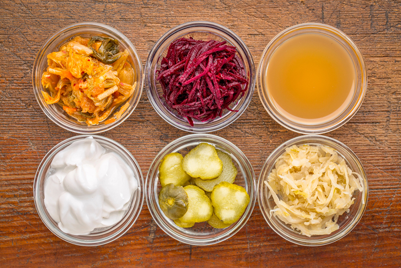 Probiotic And Fermented Foods
