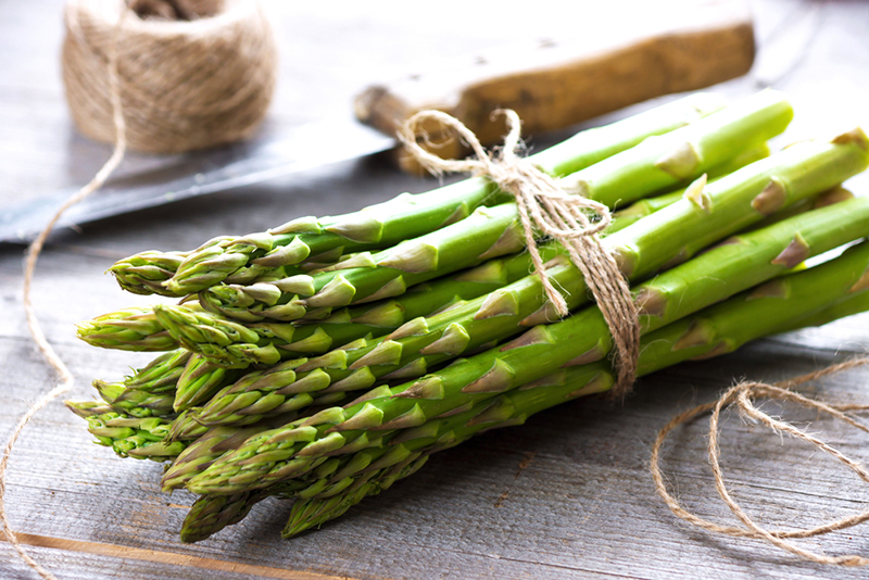 Asparagus Reduces Bloating