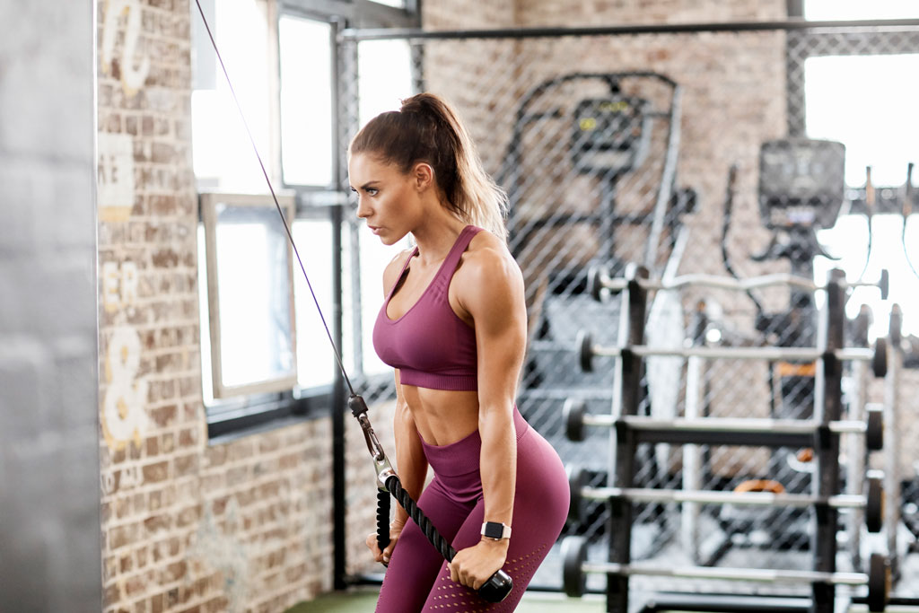 4-Move Tricep Workouts For Women: Home & Gym