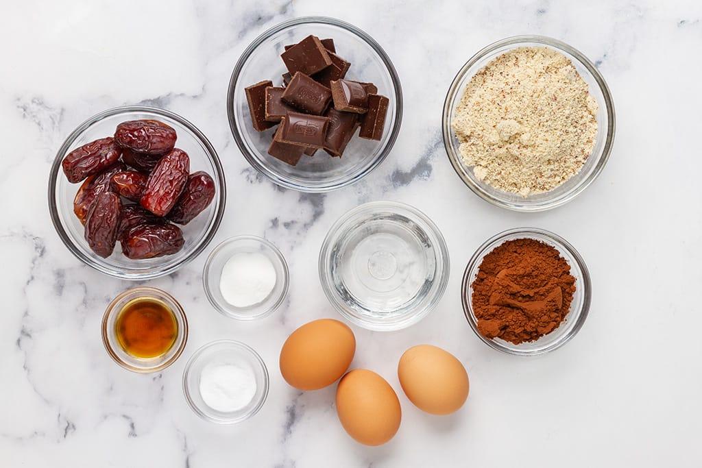 Flourless Chocolate Cake Ingredients
