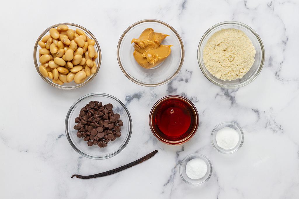 Peanut Butter Protein Brownies Ingredients