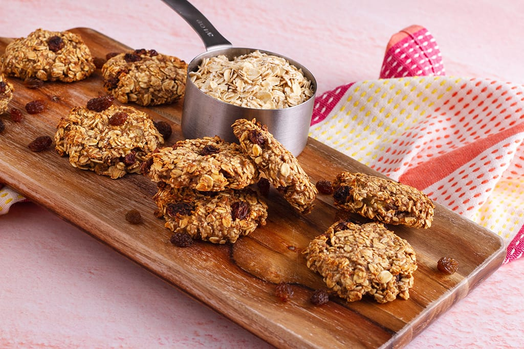 Quick & Easy Oatmeal Cookies