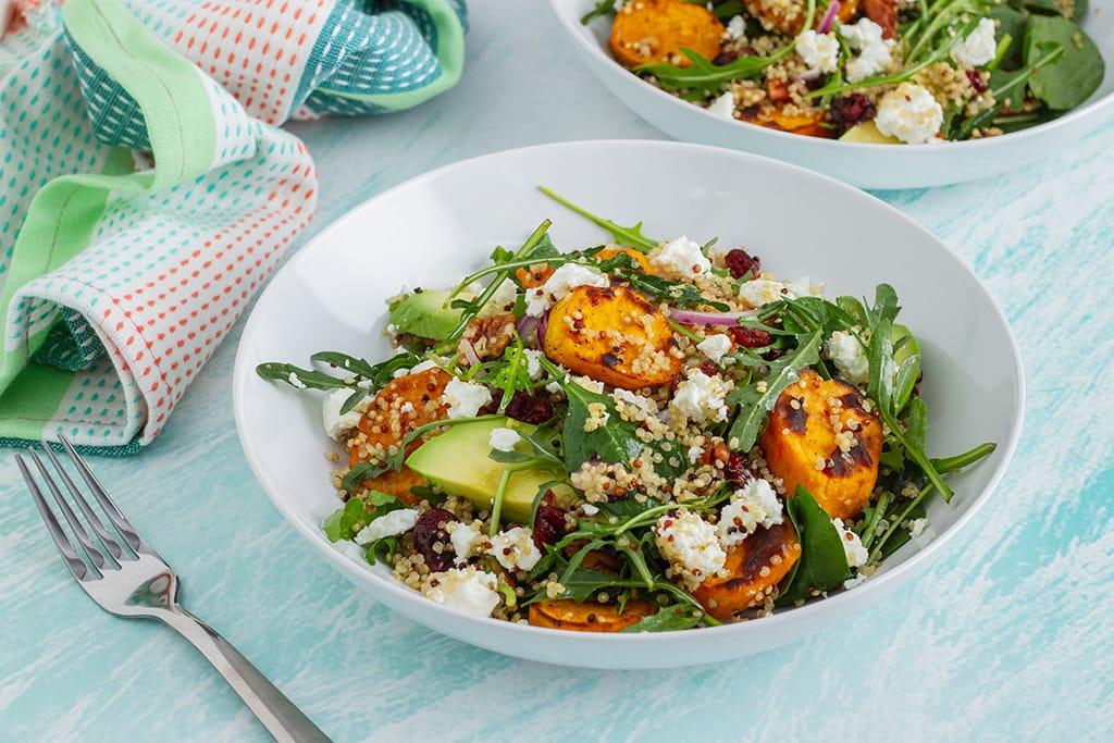 Easy Quinoa Salad With Sweet Potato