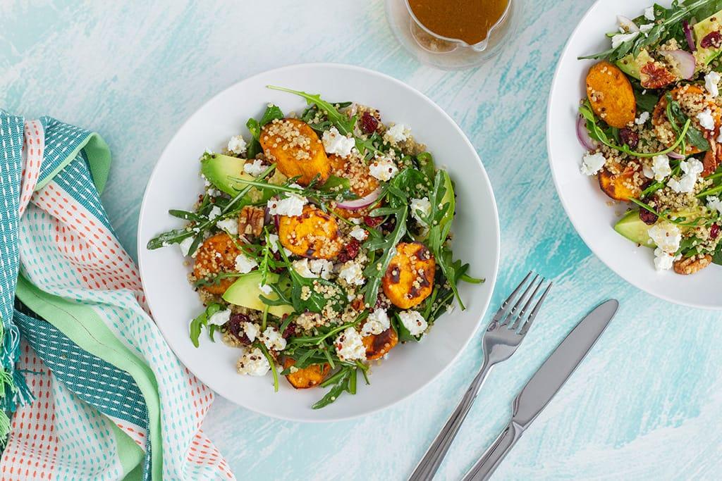 Serve Roasted Sweet Potato Salad