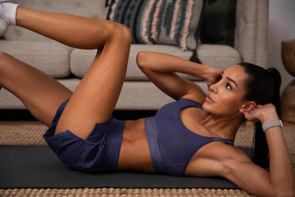 Beginner At-Home Workout From High Intensity With Kayla