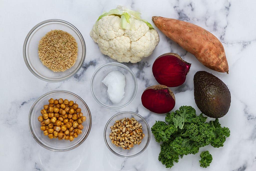 Buddha Bowl Ingredients