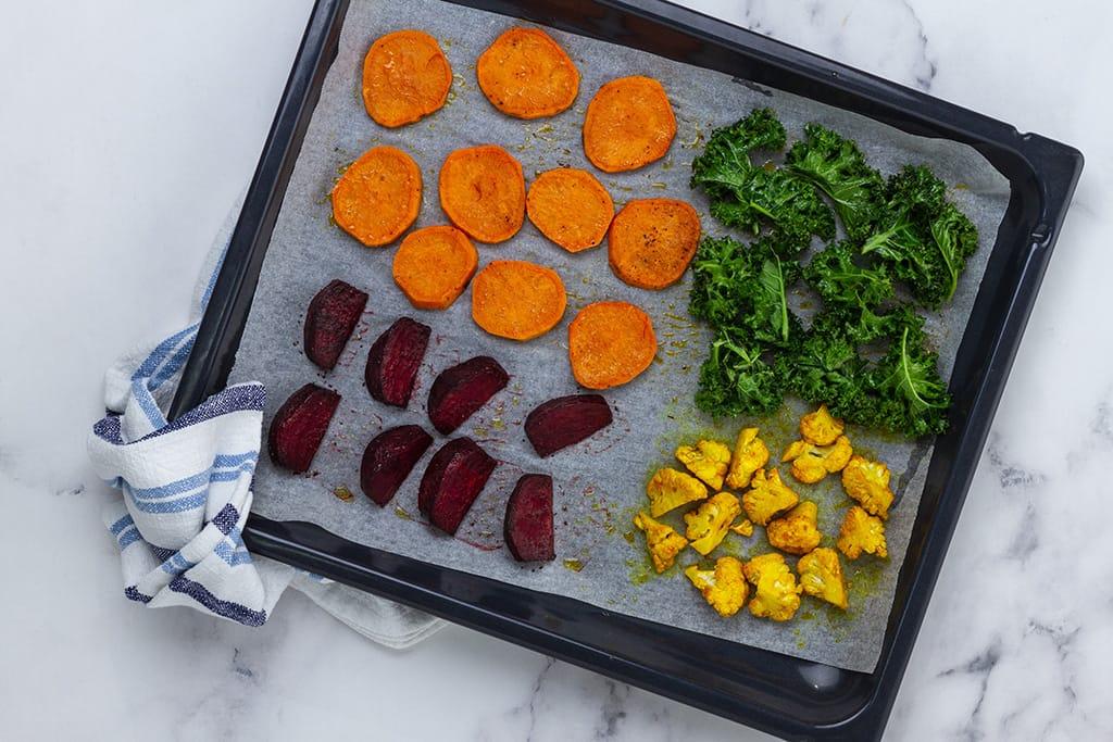 Healthy Buddha Bowl Ingredients
