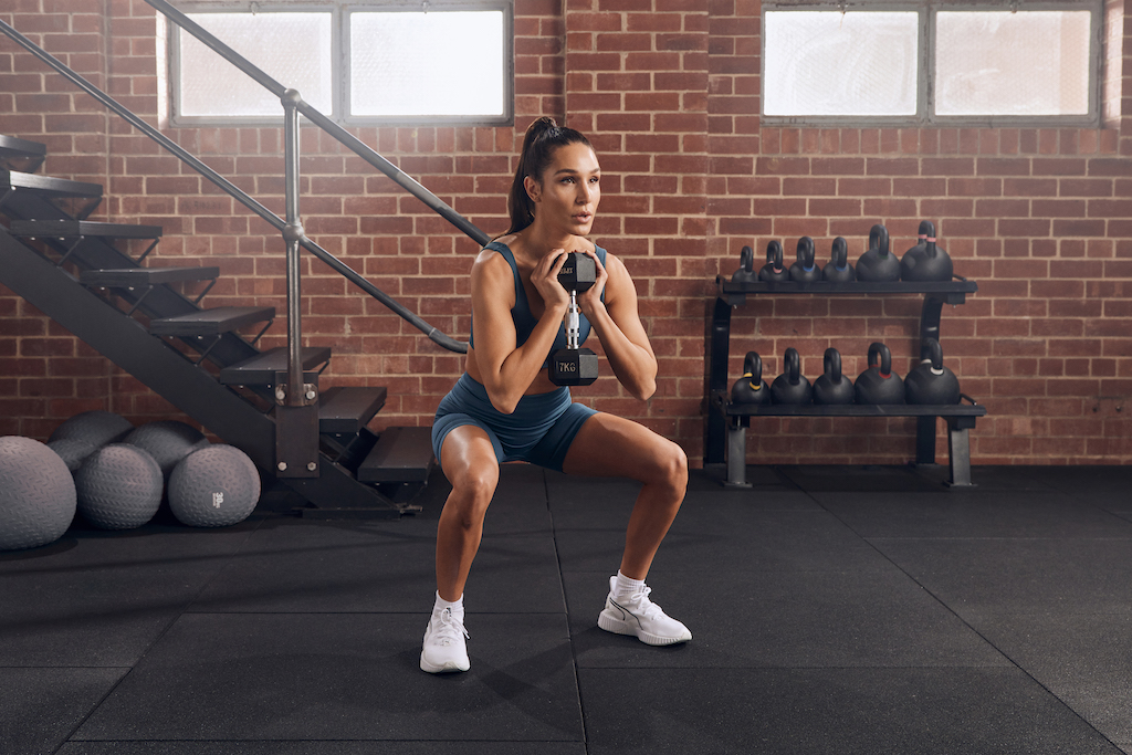 Full-Body High Intensity Strength With Kayla Workout