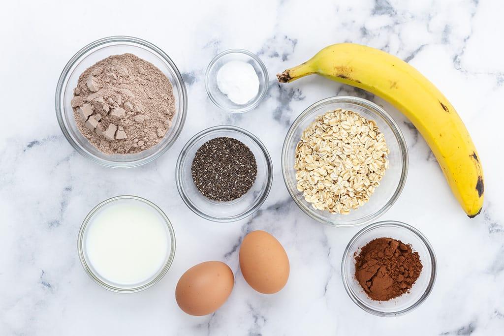 Protein Pancakes Recipe Ingredients