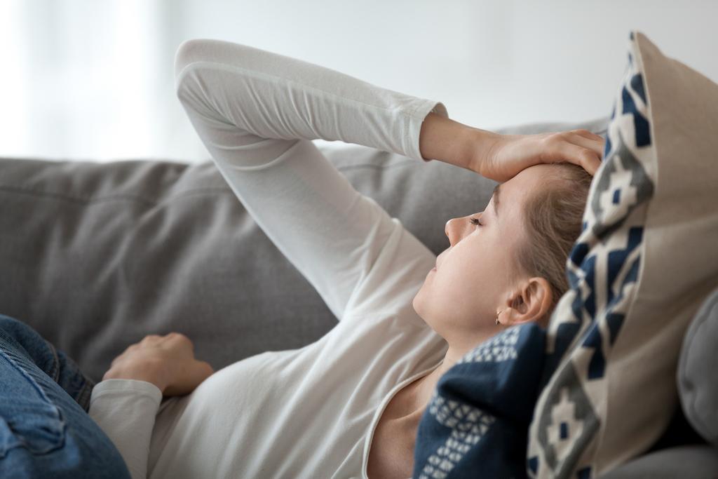 Woman Feeling Fatigued