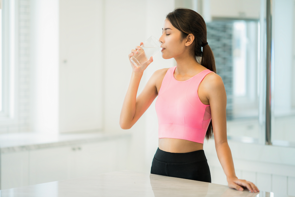 Drink Water To Fight Fatigue